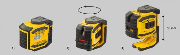 Stabila Kreuzlinien - Lot - Laser LAX 300 Baulaser