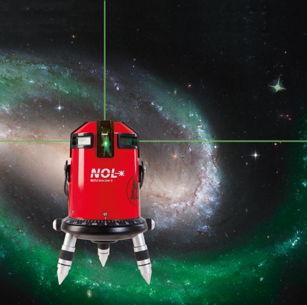 NESTLE Octoliner G Multi-Liner mit 360°-Horizontallinie grüner