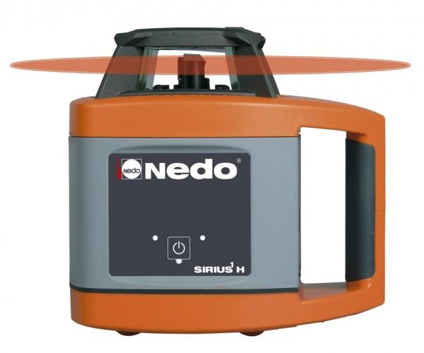 Nedo Rotationslaser SIRIUS 1 H / Laserklasse 2 Inkl. ACCEPTOR digital mit Halteklammer