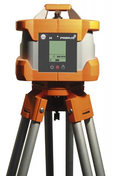 Nedo Rotationslaser PRIMUS 2 H / Laserklasse 3R Inkl. ACCEPTOR PRO + mit mm-Anzeige