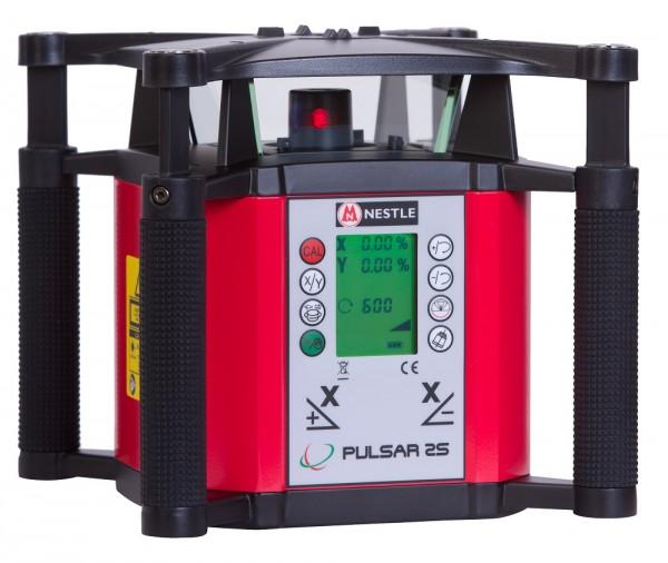 PULSAR 2S Vollautomatischer digitaler 2- Achs Neigungslaser Rotationslaser