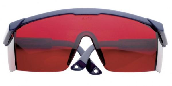 Lasersichtbrille für Rotationlaser, Linienlaser rot