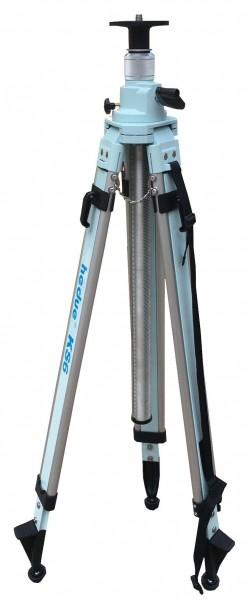 Hedue Premium Kurbelstativ KS 6 mit einem Verstellbereich von 118 bis 300 cm Baulaser