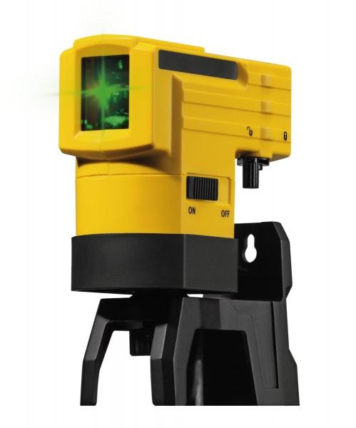STABILA Kreuzlinien-Laser LAX 50G selbstnivellierend, 3-teiliges Set