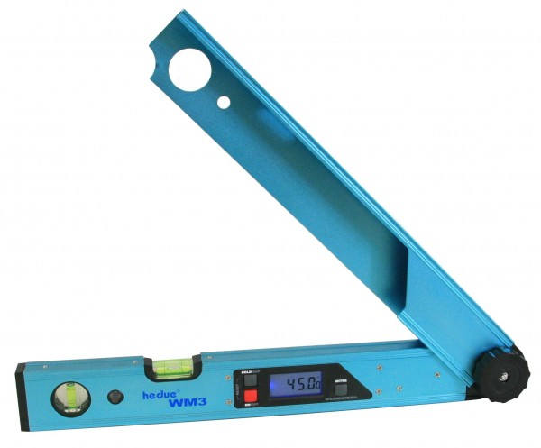 Hedue Digitaler Winkelmesser WM3 45 cm