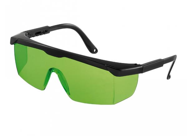 Lasersichtbrille für Rotationlaser, Linienlaser grüner Laserstrahl